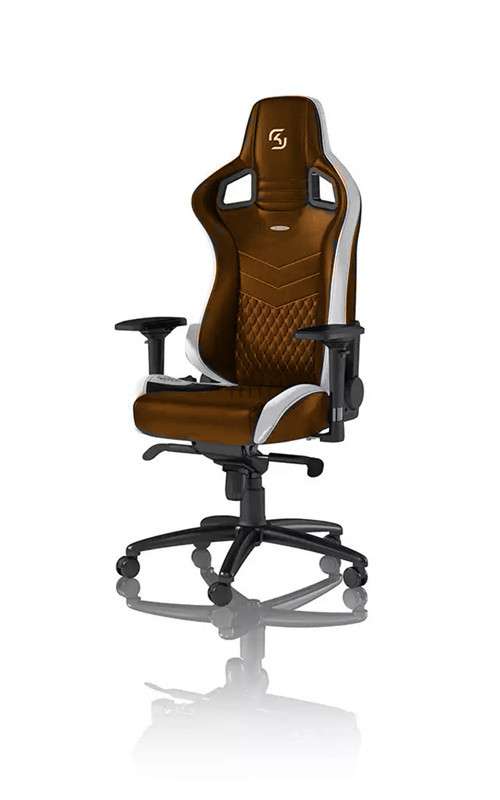 2039 Brown Reclining Adjustable Office Chair / Computer Desk Chair With Logo Paris